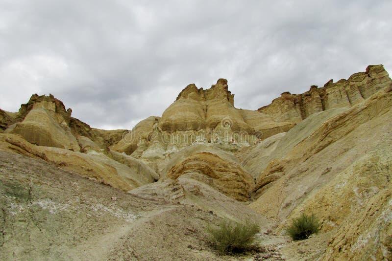塞罗城堡岩层在阿根廷 图库摄影