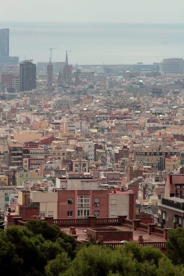巴塞罗那,南西班牙 库存照片