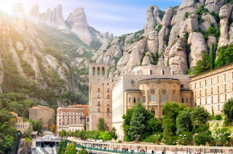 巴塞罗那,西班牙,蒙特塞拉特 免版税库存照片
