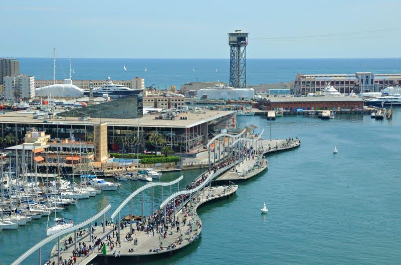 卡塔龙尼亚巴塞罗那的首都 库存照片
