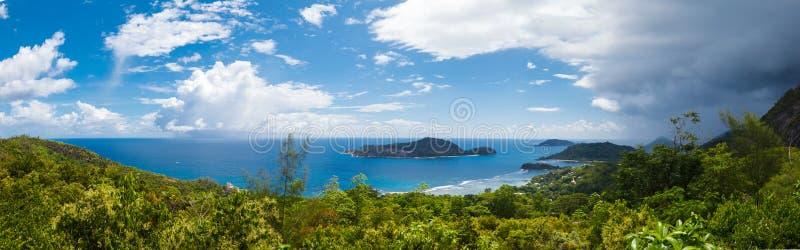 塞舌尔群岛, Mahe海岛 库存照片
