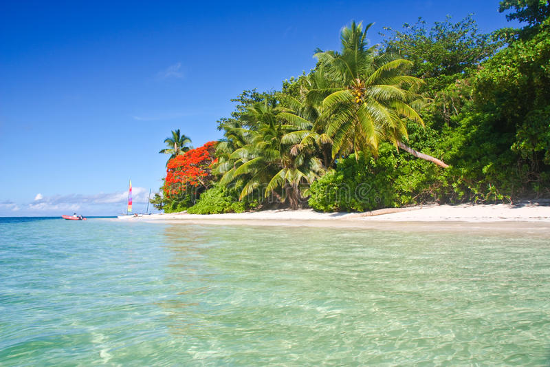 塞舌尔群岛 免版税库存图片