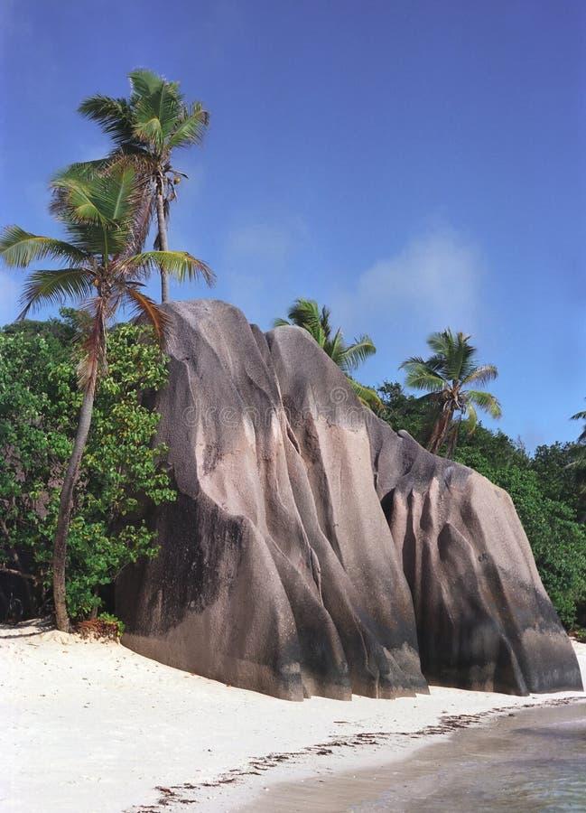 塞舌尔群岛 库存图片