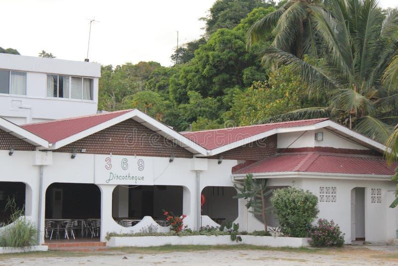 塞舌尔马埃海岛海滩 免版税库存图片