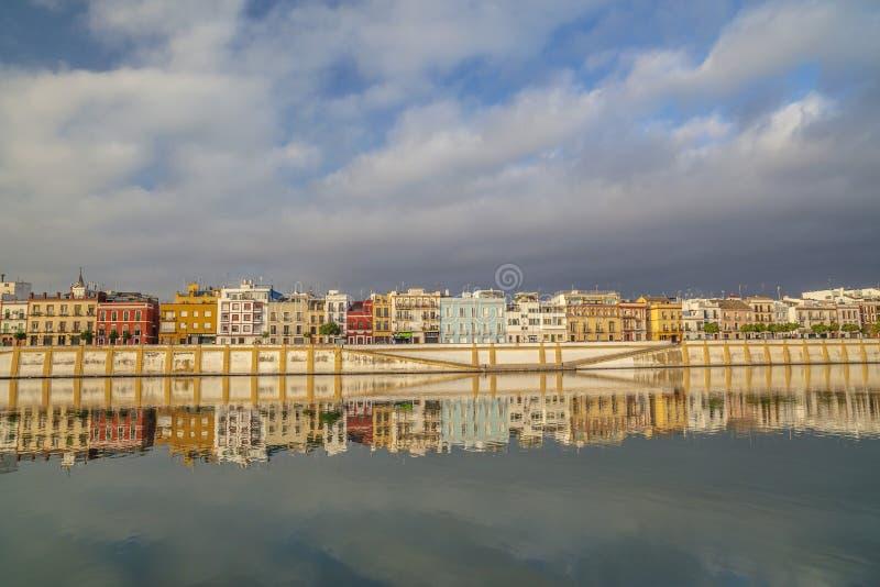 塞维利亚,安达卢西亚,西班牙 免版税图库摄影