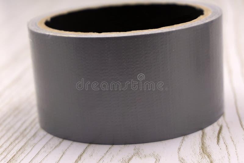 填塞的,绝缘材料,形成盘区,高最初的黏附力磁带,铝橡皮膏代表铝芯与 免版税图库摄影
