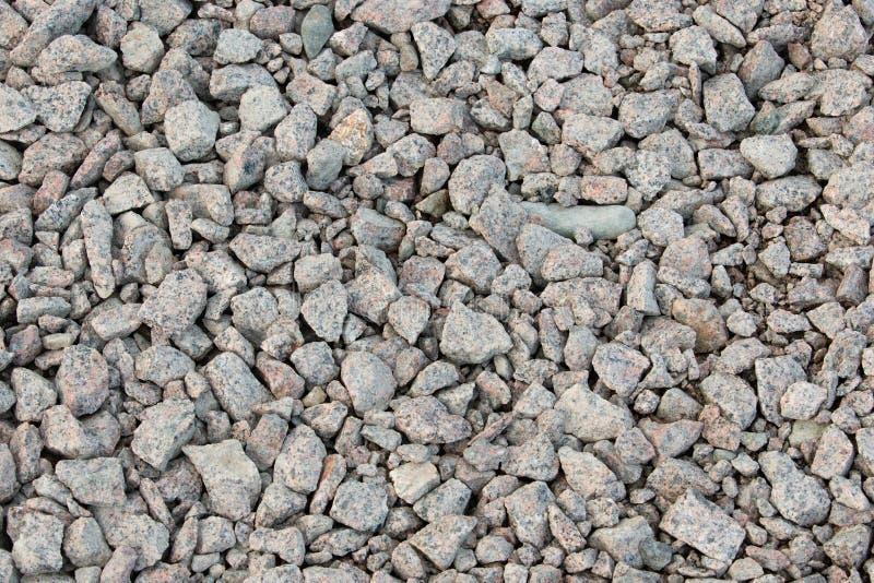 填装框架的岩石 库存照片