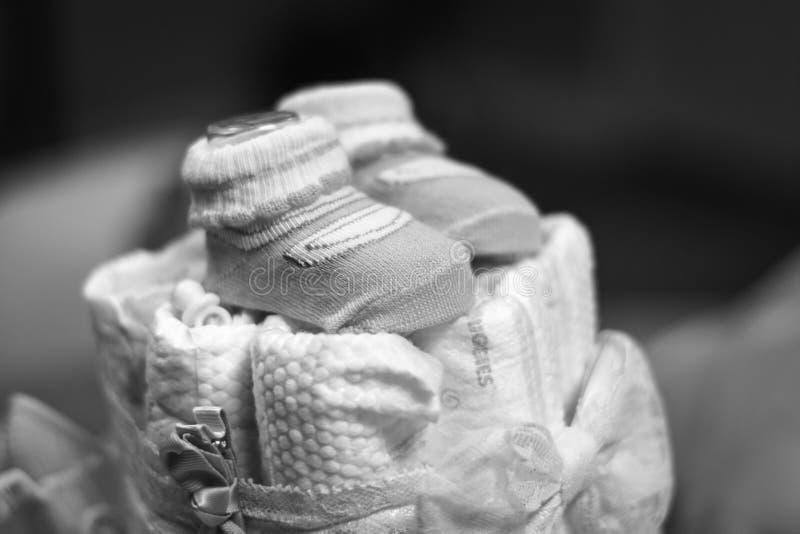 填装的小的鞋子 免版税库存照片