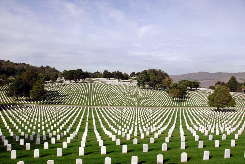 墓地国家状态团结了 库存图片