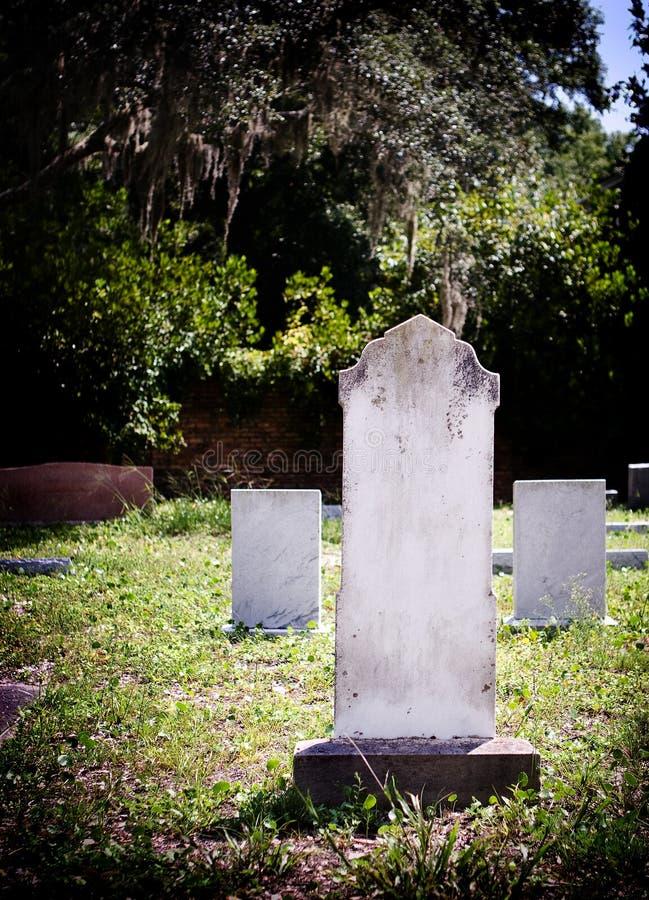 墓地坟园墓石 库存图片