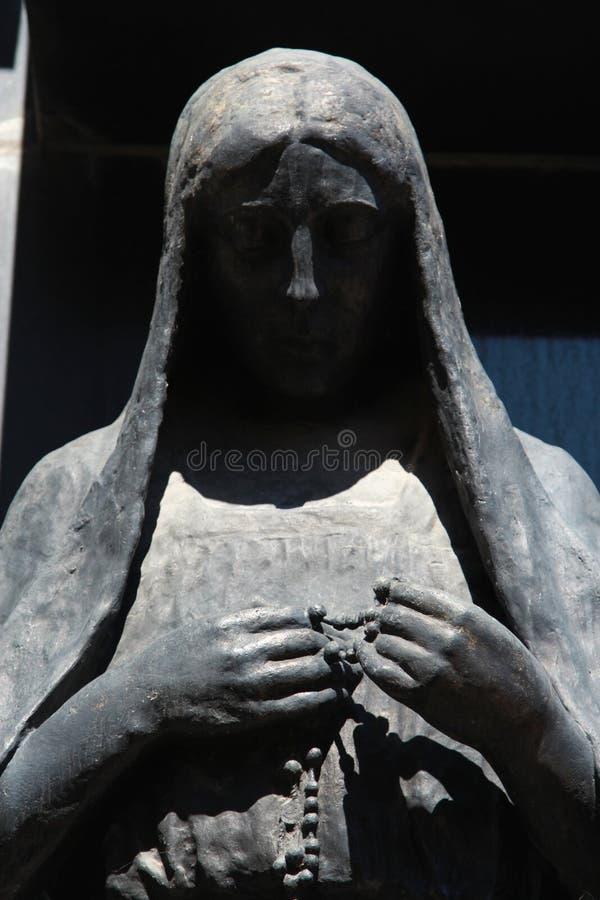 墓地la recoleta 免版税库存照片