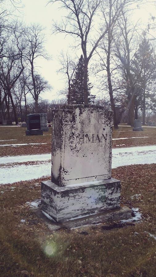 墓石 库存照片