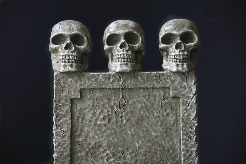 墓碑三重奏 图库摄影
