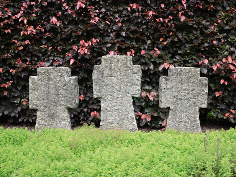 墓碑 免版税库存照片