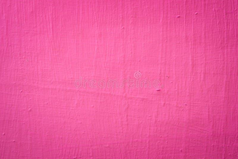 墙壁与油漆的被绘的紫罗兰 图库摄影