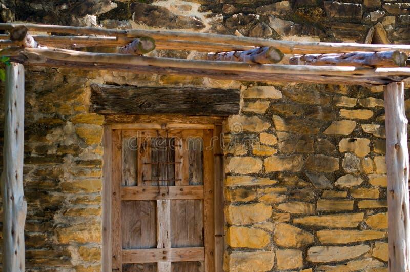 墙壁和门细节使命圣何塞 免版税库存照片