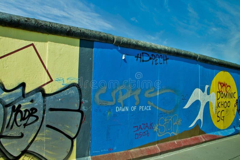墙壁在柏林 库存图片