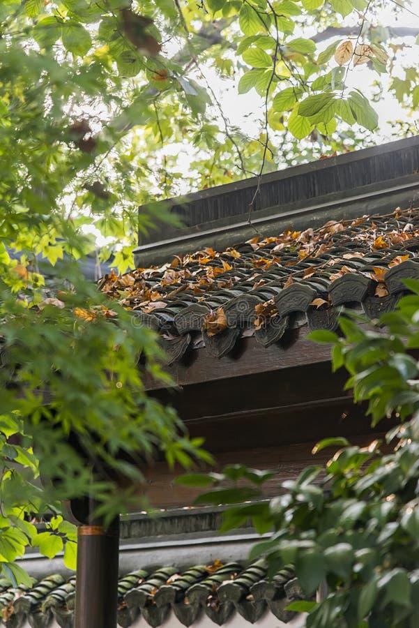 墙壁屋顶 免版税库存图片