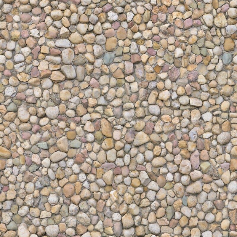 墙壁根据鹅卵石和石头古老方法被计划 库存照片