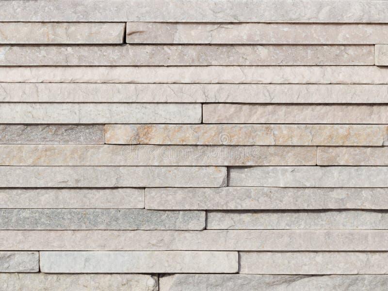 墙壁浅灰色的自然石头 库存照片