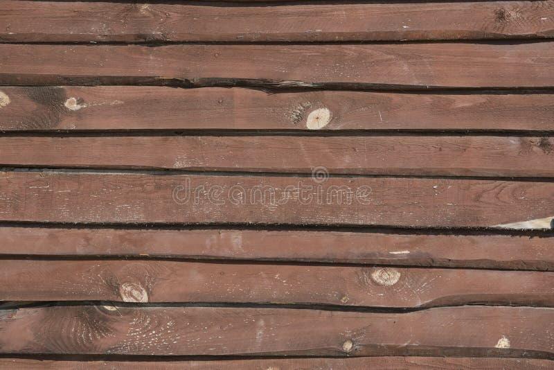 墙壁由木头制成 免版税库存图片