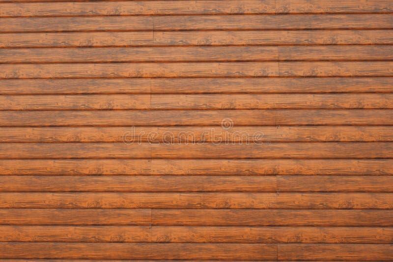 墙壁由木板条做成 木墙壁纹理 库存图片