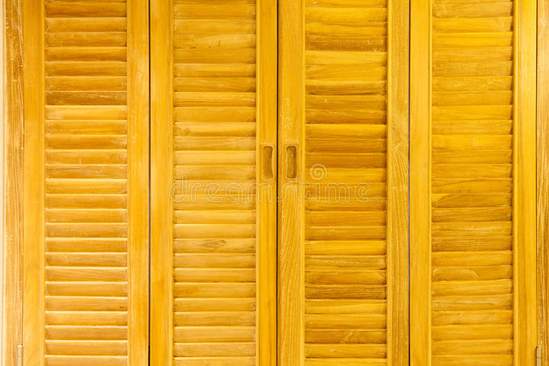 墙壁由木头制成 免版税库存照片