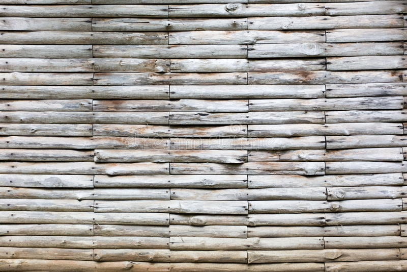 墙壁由轻的木头、白色和灰色制成 库存图片