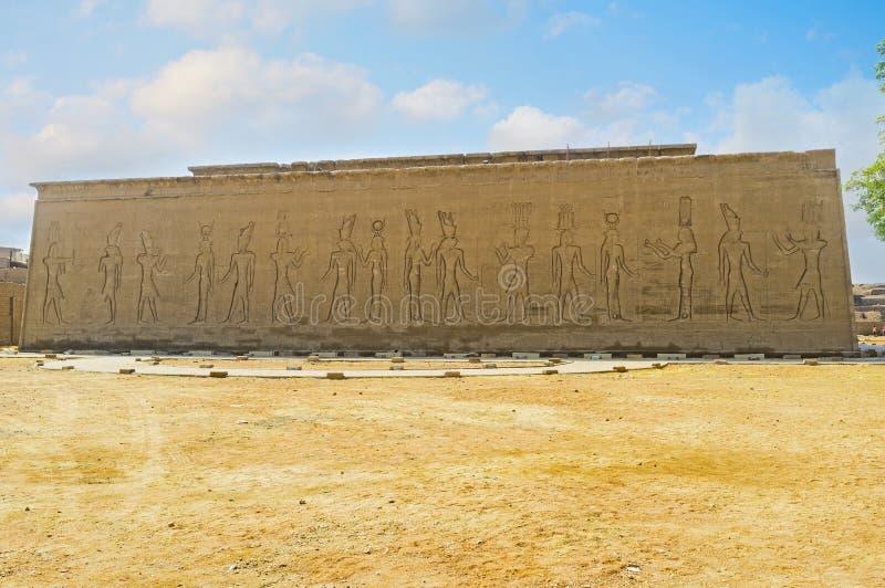 墙壁的全景 免版税库存图片