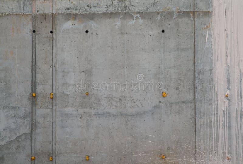 墙壁的接近的具体射击 免版税库存照片