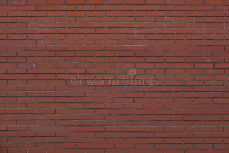 墙壁砖砌褐色砖 免版税库存照片