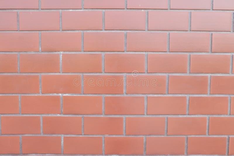 墙壁红色石头 免版税库存照片