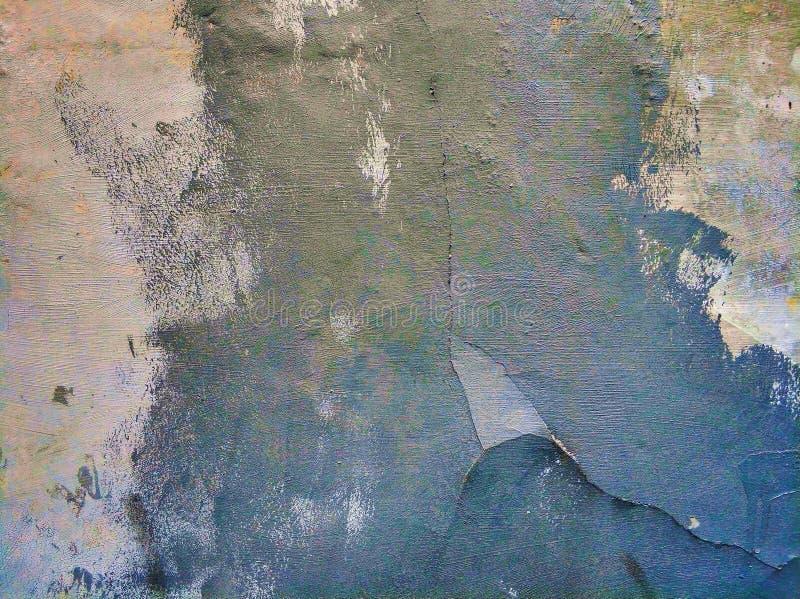 墙壁被绘的纹理 库存图片