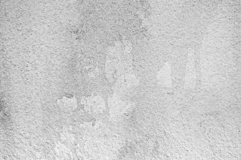墙壁被绘白色和浅灰色的颜色纹理 库存照片