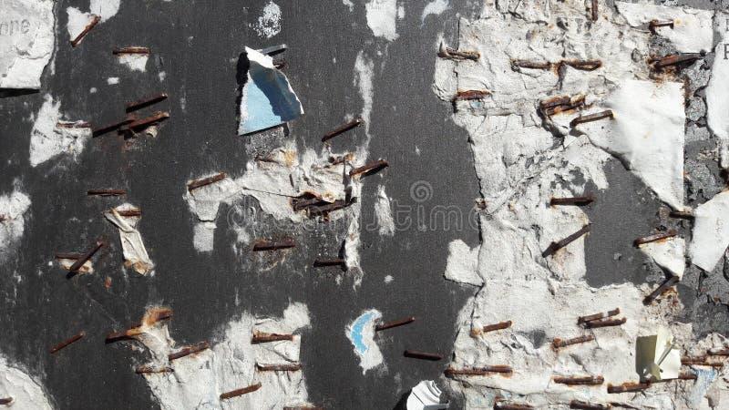 墙壁铁锈纸 免版税库存图片