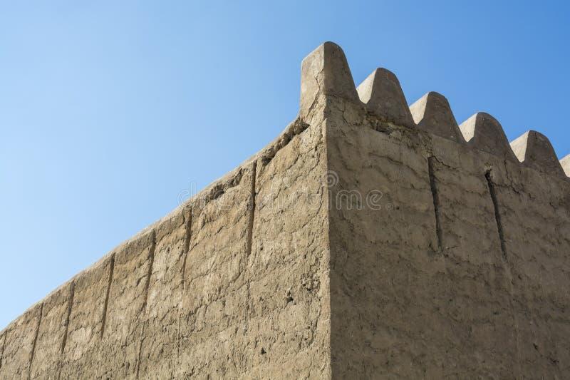 墙壁Al Fahidi堡垒 图库摄影
