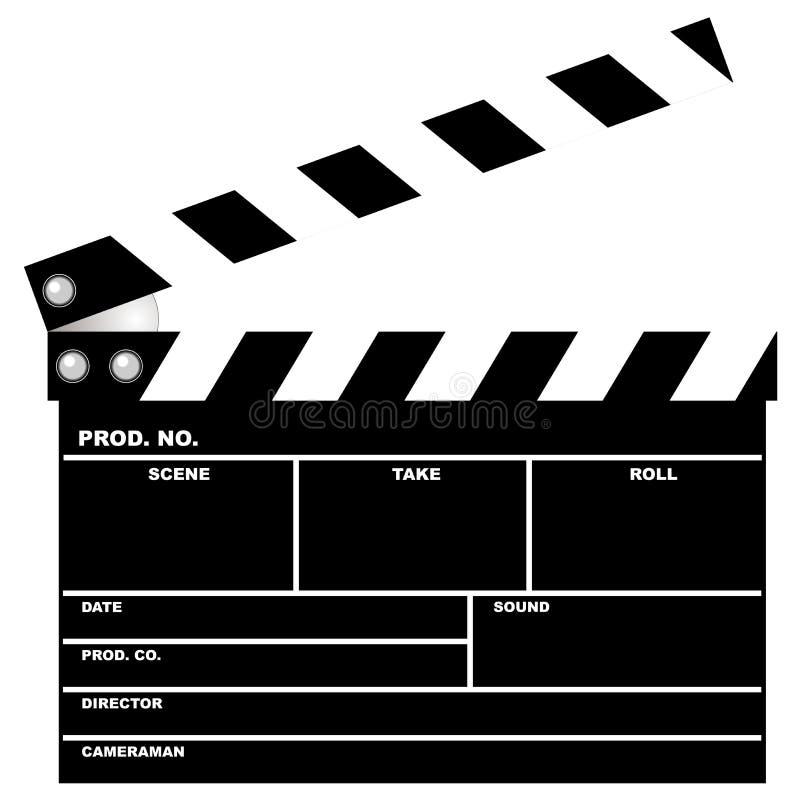 墙板电影 向量例证
