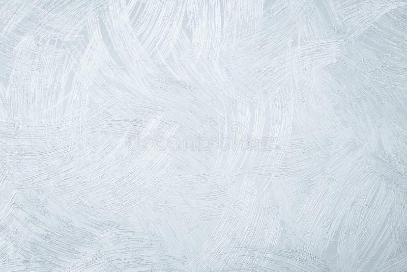 墙纸在被定调子的轻的银的纹理背景 免版税图库摄影