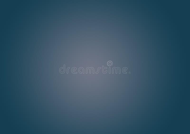 墙纸的蓝色梯度背景 库存图片