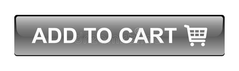 增加用车运送按钮 免版税库存照片