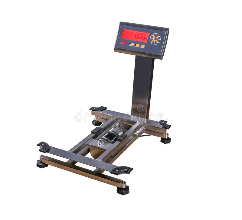 增强的设备重量重量 库存图片
