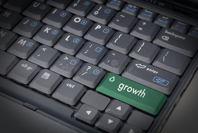 增长关键字 免版税库存图片