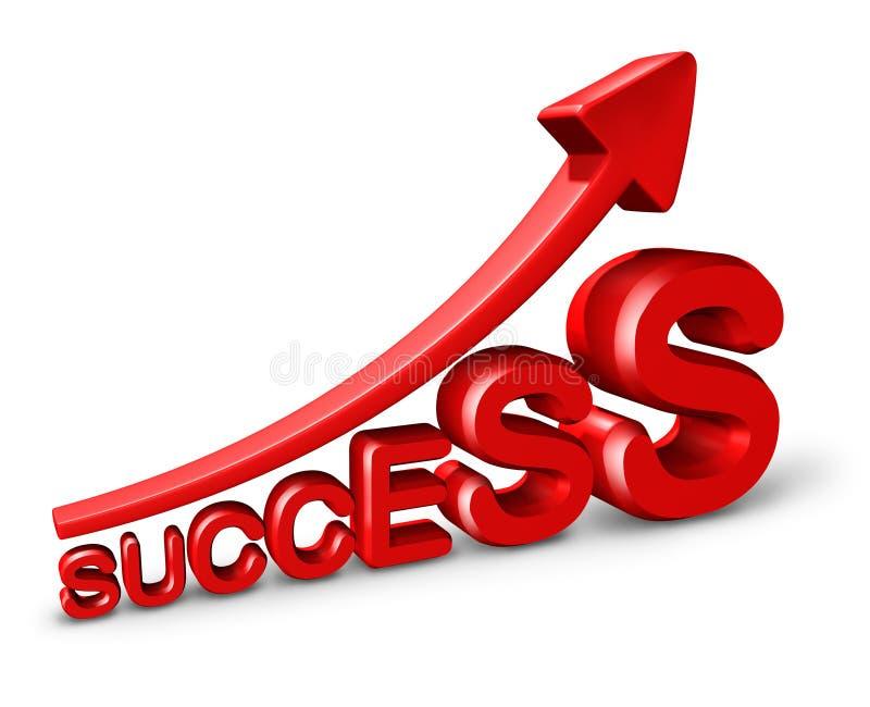 增长成功 库存例证