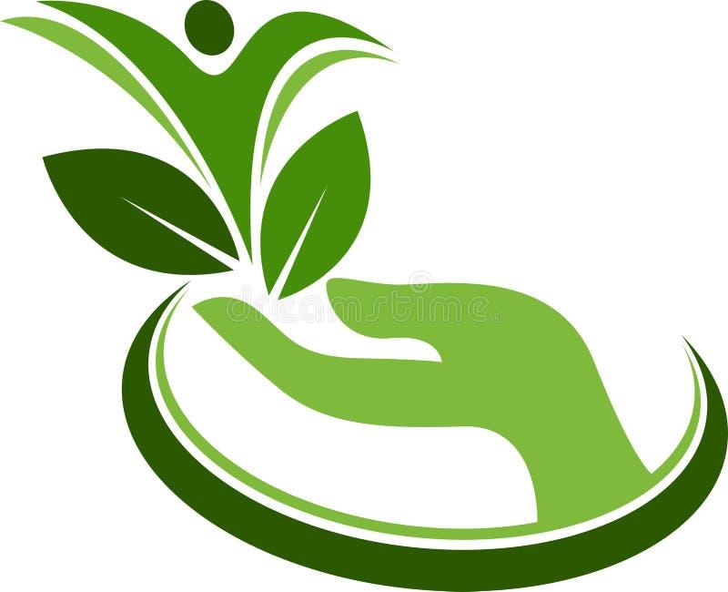 增长的树人 库存例证