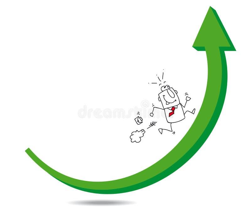 增长 向量例证