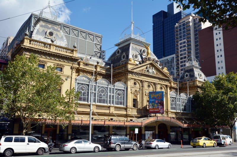 墨尔本公主Theatre - 免版税库存照片