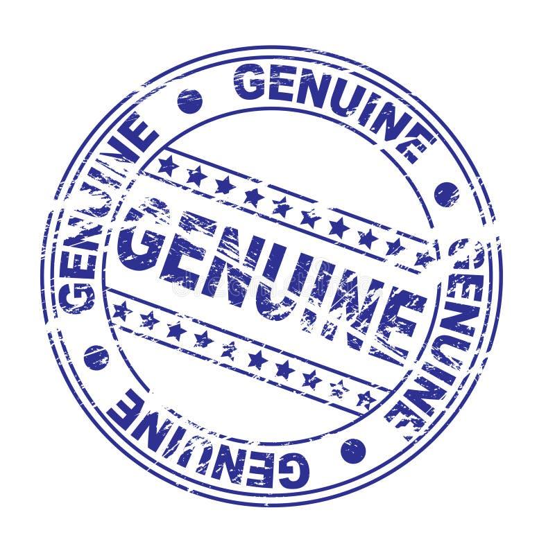 墨水印花税: 真正(向量) 库存例证