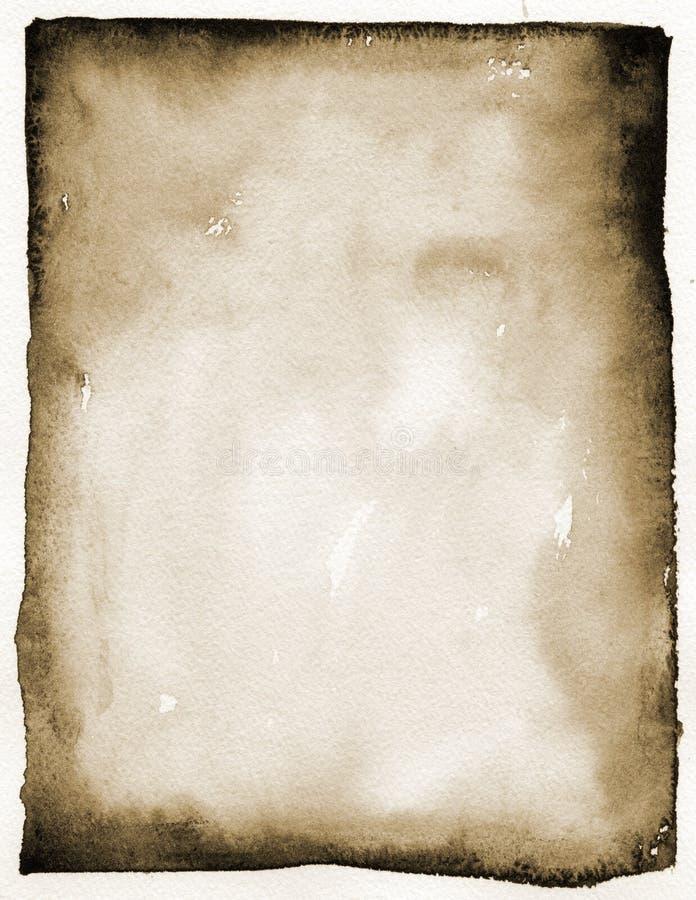 墨汁长方形 免版税库存照片