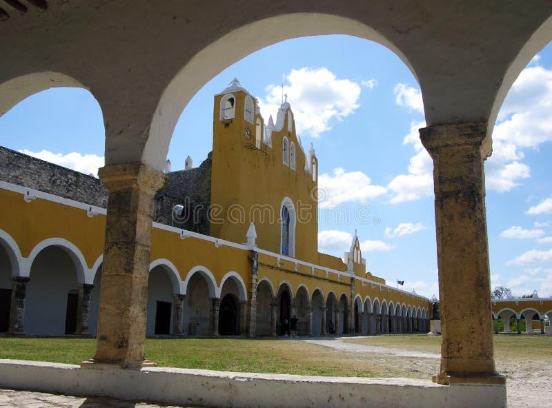 墨西哥修道院 免版税库存图片