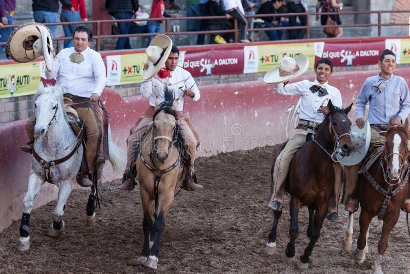 墨西哥圈地在圣路易斯波托西州墨西哥 免版税库存照片